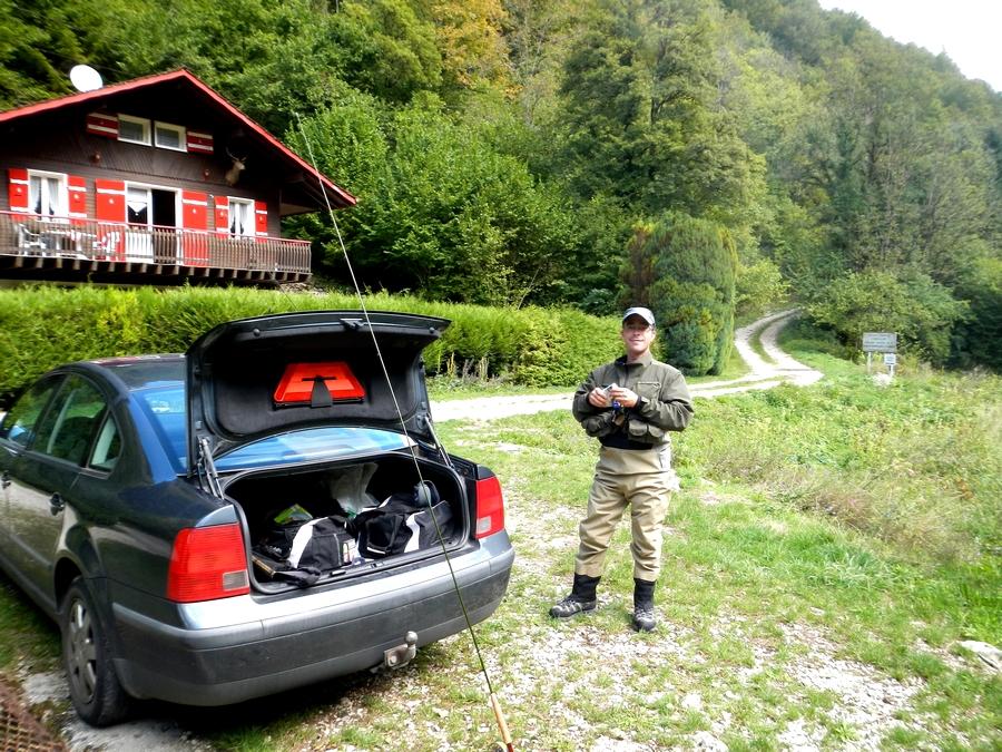 Pêche sur le Doubs - Septembre 2013